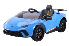 12V Lamborghini Huracan sous licence Bleu
