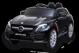 12V Mercedes GLA sous licence Noir – Voiture Electrique Pour Enfants