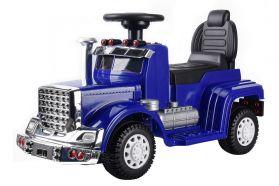 Camion Porteur 6V - Camion Electrique Pour Enfants Bleu