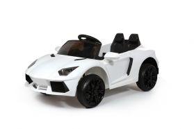 Roadster 12V Style Lambo Blanc - Voiture Electrique Pour Enfants