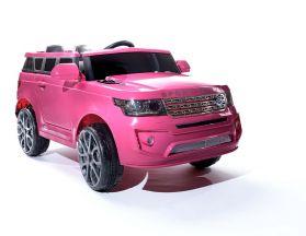 4x4 Rose Sport Coupe 12V Style Range – Voiture Electrique Pour Enfants