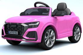12V Audi Q8 RS Rose sous licence – Voiture Electrique Pour Enfants