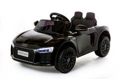 12V Audi R8 Spyder Noir sous licence – Voiture Electrique Pour Enfants