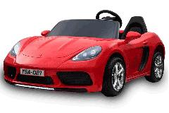 Supercar 24V deux sièges rouge - Voiture Electrique Pour Enfant
